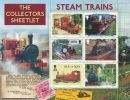 Steam Trains Collector's Sheetlet