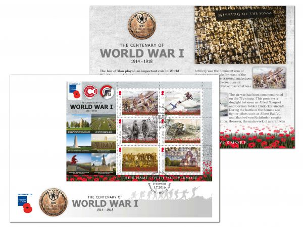 The Centenary of the Battle of the Somme Memorials Commemorative Envelope